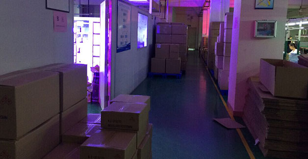 LED plant grow lamp stock in warehouse