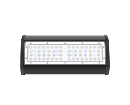50w linear suspension mounting black color IP65 LED grow light bar
