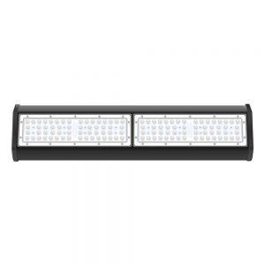 Modułowa obudowa z czarnego korpusu aluminiowego 100W LED powiększa uchwyt świetlny