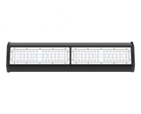 Modular design aluminum body black housing 100W LED grow light bar fixture
